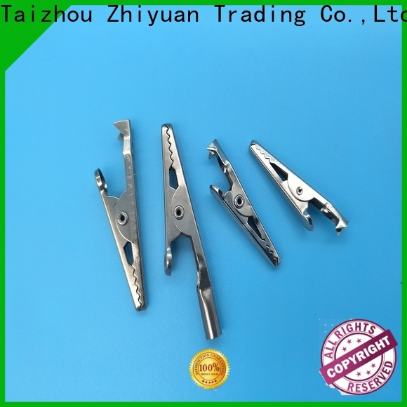 Zhiyuan Custom stamping components suppliers for metal sheets