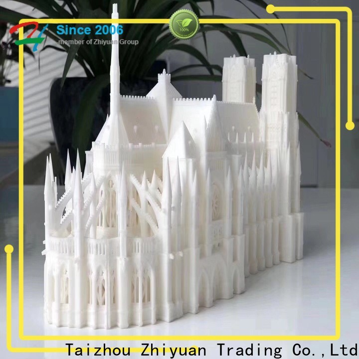 Zhiyuan bottle 3d printing prototype service company for machinery field