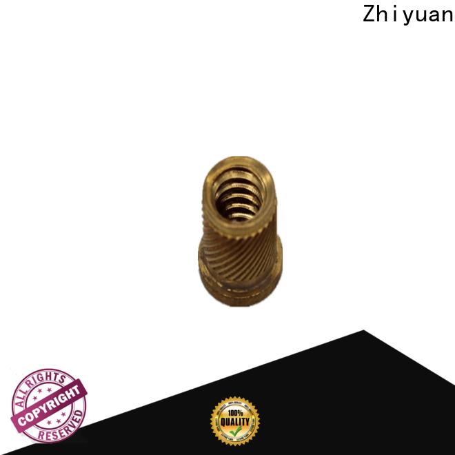 Zhiyuan flange custom machined parts company medical treatment