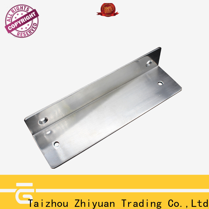 Zhiyuan profile precision metal stamping parts supply for metal samples