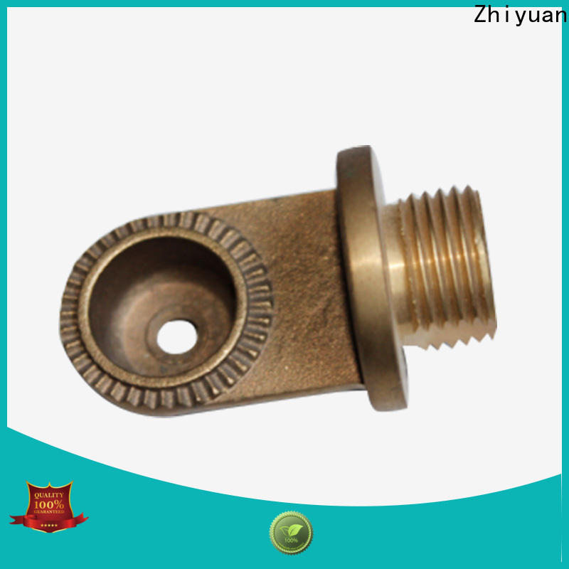 Zhiyuan tube custom metal parts for business for milling