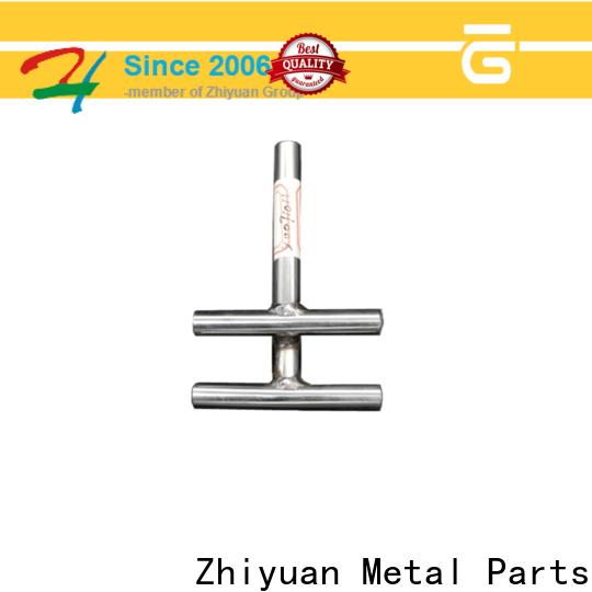 Zhiyuan tube custom made metal parts supply for forging