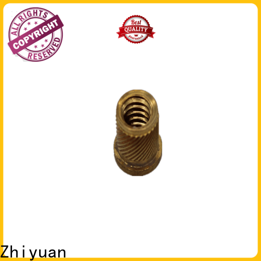 Zhiyuan Best custom machined parts company for auto products