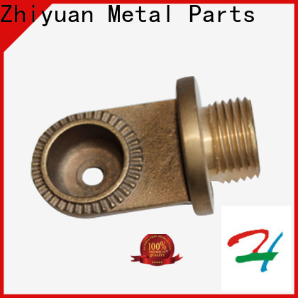 Zhiyuan cutting custom made metal parts manufacturers for grinding