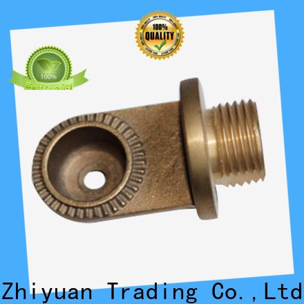 Zhiyuan cutting cnc metal parts company for forging