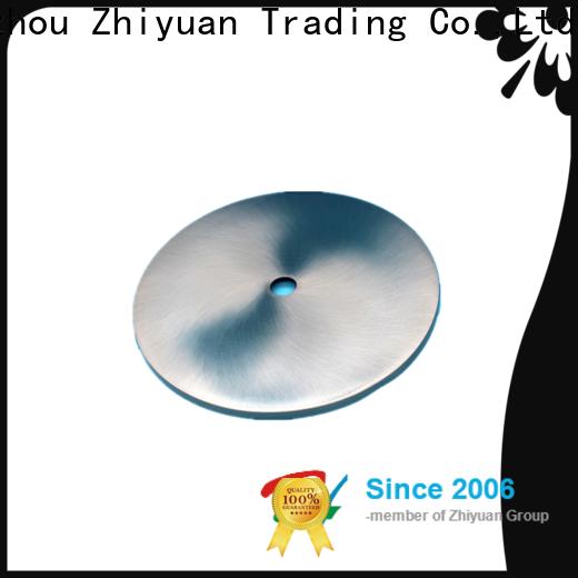 Zhiyuan High-quality precision metal parts company for CNC center