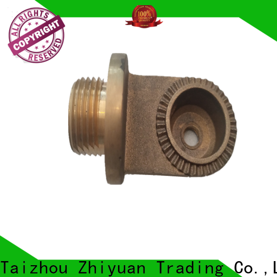 Zhiyuan Latest die casting parts supply electrical machine