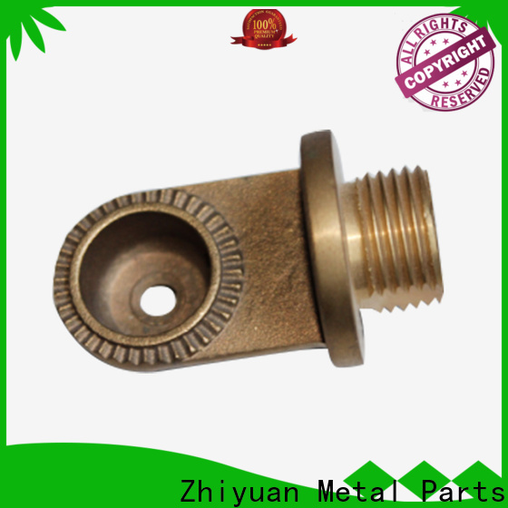 Zhiyuan cutting precision metal parts factory for milling
