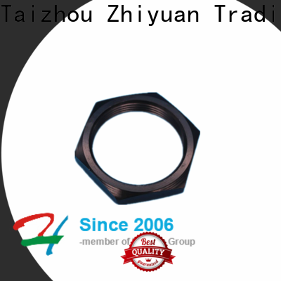Zhiyuan steel cnc machine parts manufacturers for electronic