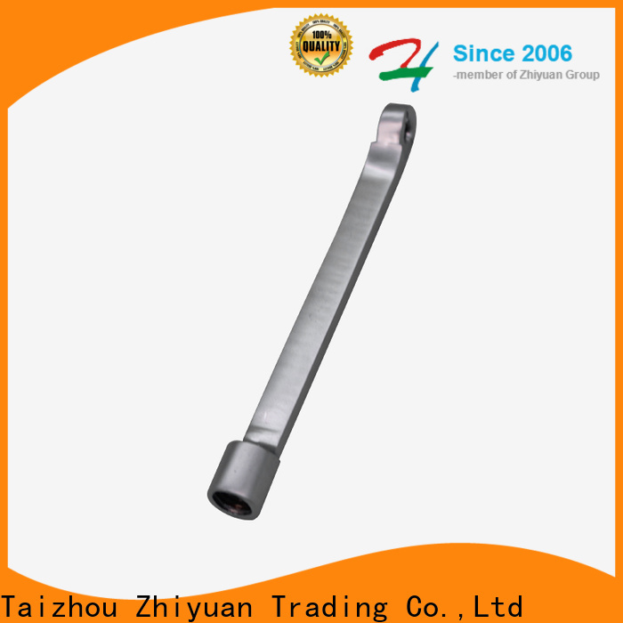Zhiyuan casting die casting components factory electric appliance