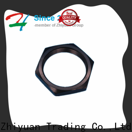Zhiyuan lock custom machined parts supply for auto products