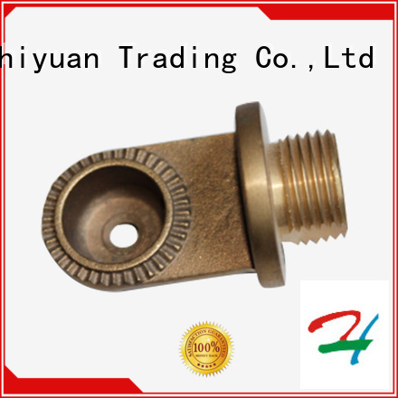 Zhiyuan tube metal machining parts for sale for forging