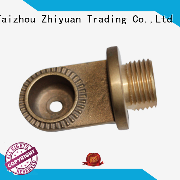 Zhiyuan part precision metal parts factory for CNC center