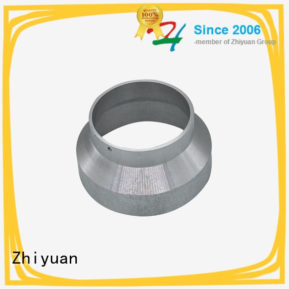 Zhiyuan tube custom made metal parts factory for milling