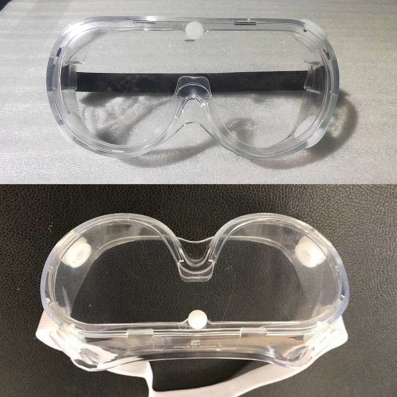 Chemical medical protective eye glasses impact resistant anti saliva fog safety glasses goggles