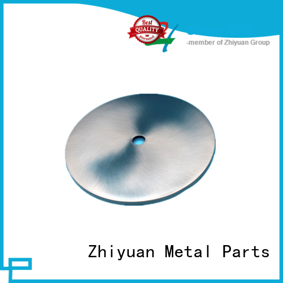 Zhiyuan precision custom made metal parts for business for CNC machining