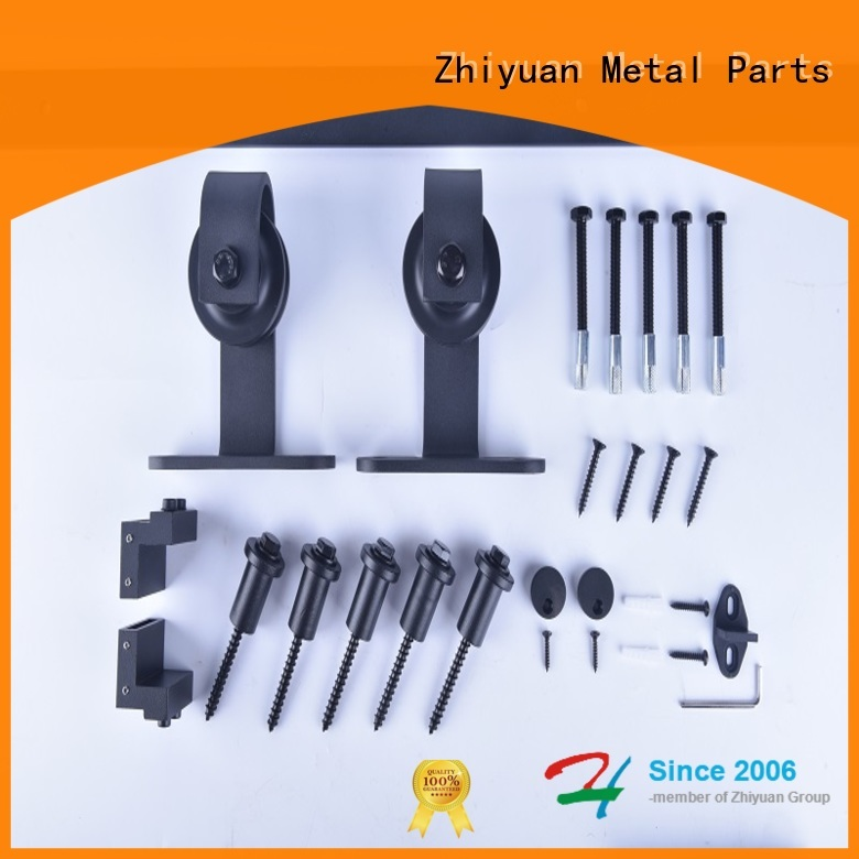 Zhiyuan Wholesale barn door track hardware suppliers for hotel
