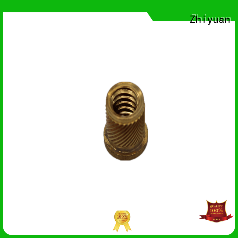 Custom machine parts brass for business for electronic