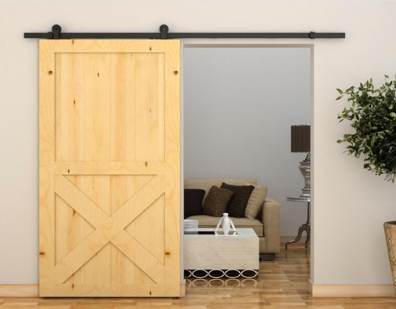 Zhiyuan close sliding barn door hardware manufacturers for bed room-1