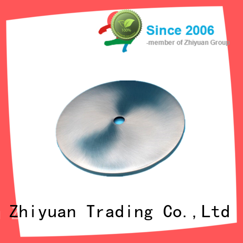 Zhiyuan cutting aluminium parts free quote for milling