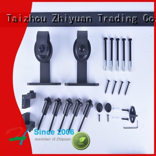 Top sliding door track hardware iron for sale for bed room