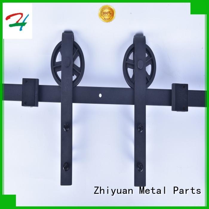 Zhiyuan rail sliding barn door handles for business for hotel