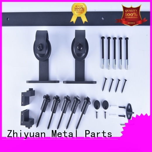 Zhiyuan door barn sliding door hardware suppliers for living room