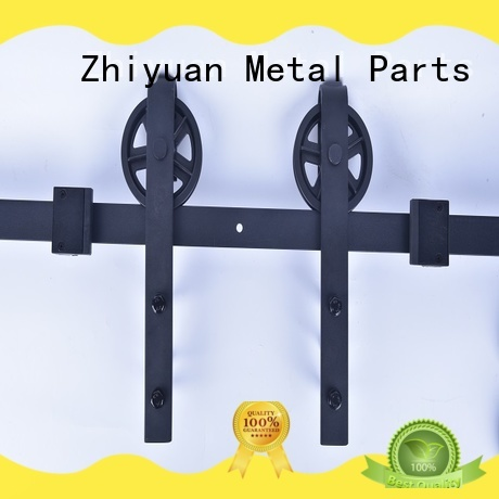 Zhiyuan close sliding barn door hardware manufacturers for bed room