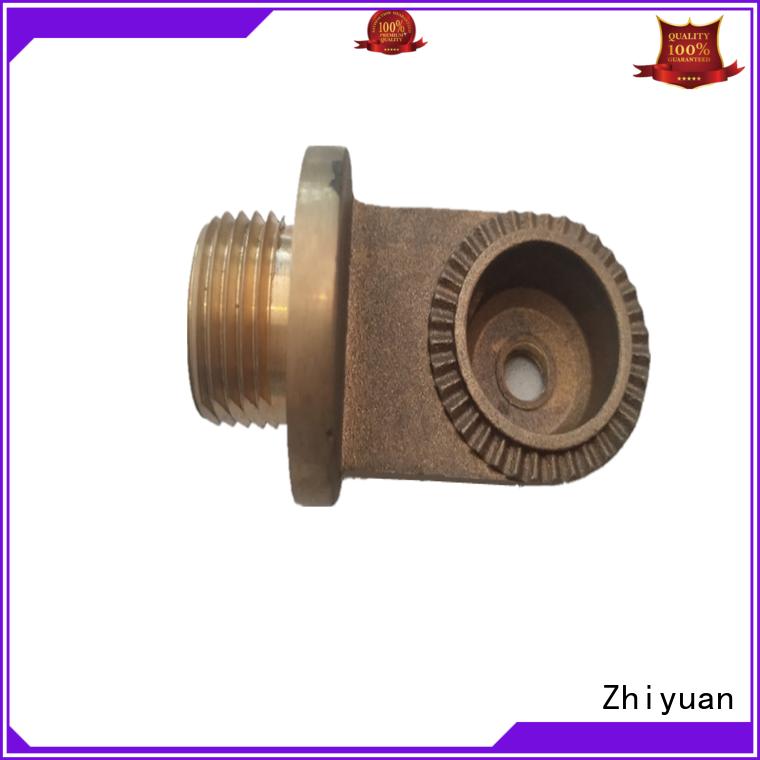 Zhiyuan brass die casting part manufacturers electrical machine
