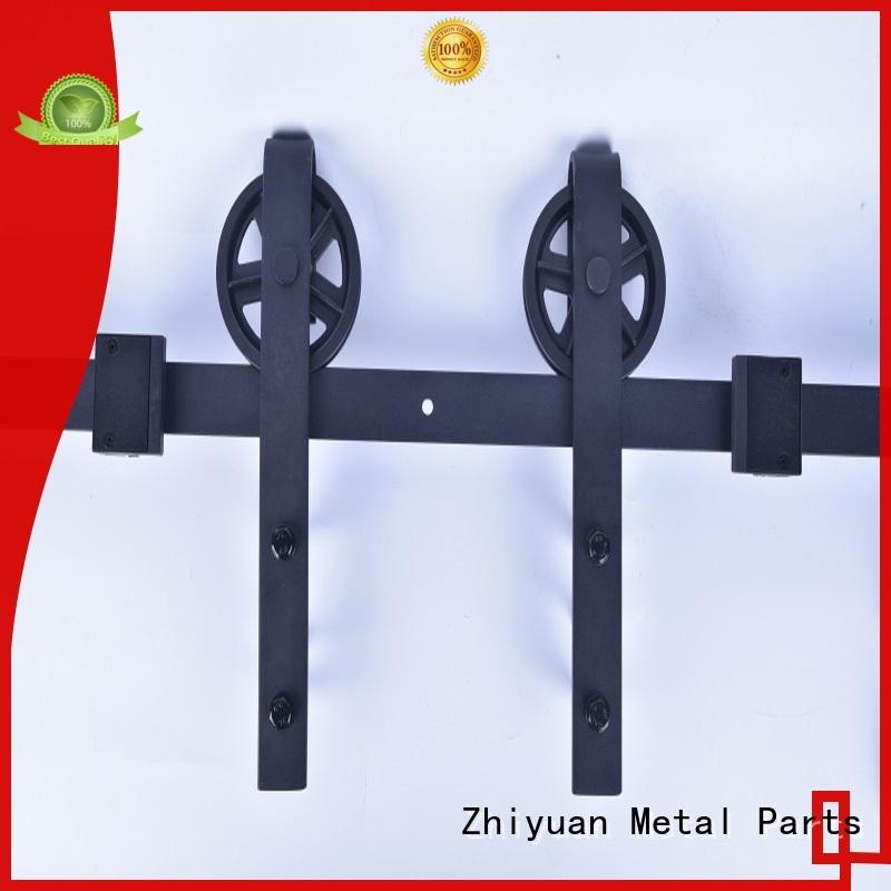 Zhiyuan interior rolling barn door hardware suppliers for bed room