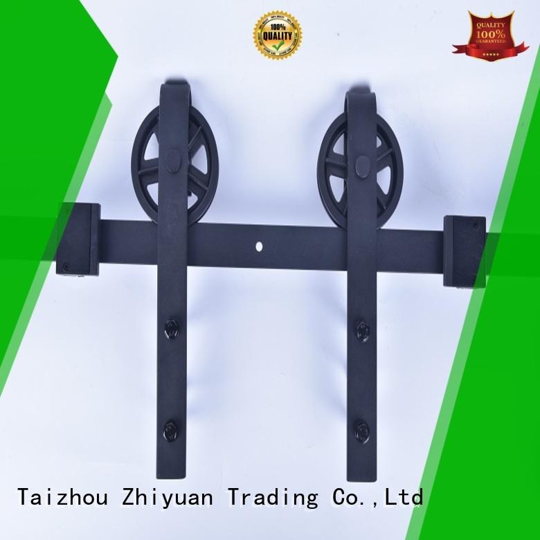 Zhiyuan solid sliding barn door hardware strong for living room