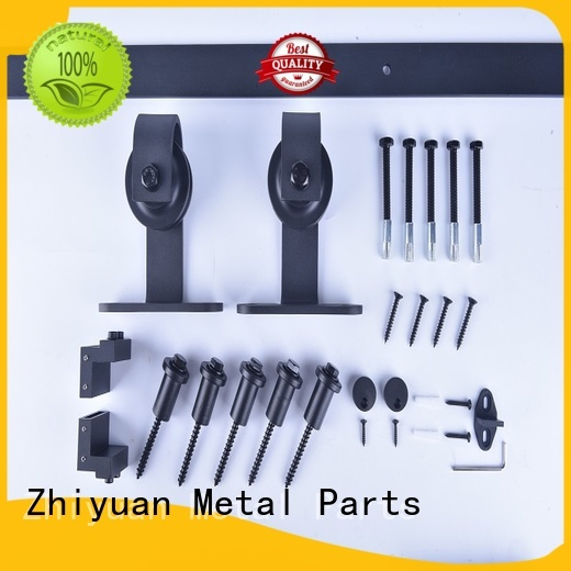 Zhiyuan rail rolling barn door hardware supply for living room