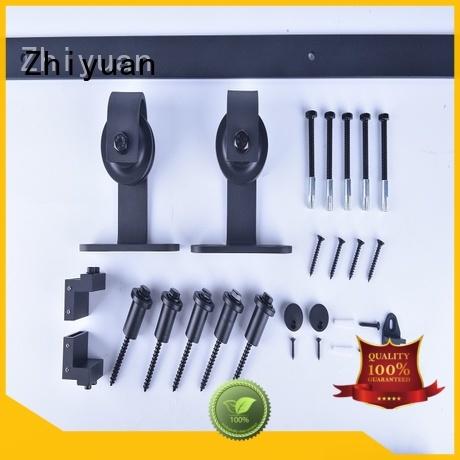 Zhiyuan sliding barn door track hardware company for hotel