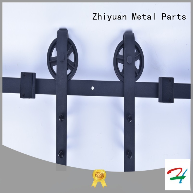 Zhiyuan rail barn door track hardware suppliers for cabinet