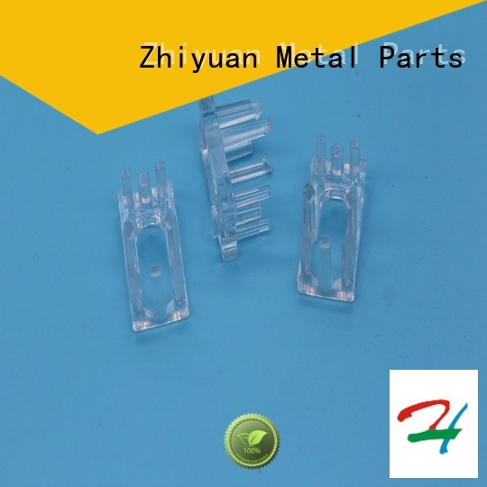 Small Transparent Injection Plastic Connecting Parts