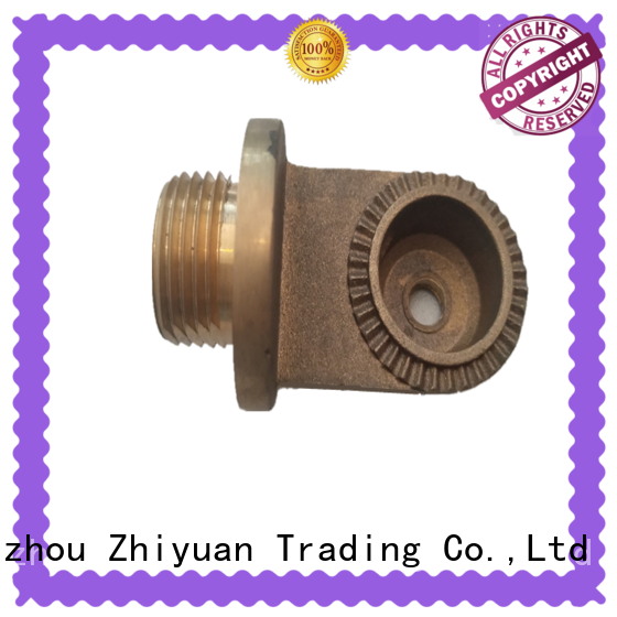 Zhiyuan stainless die casting components factory for auto products