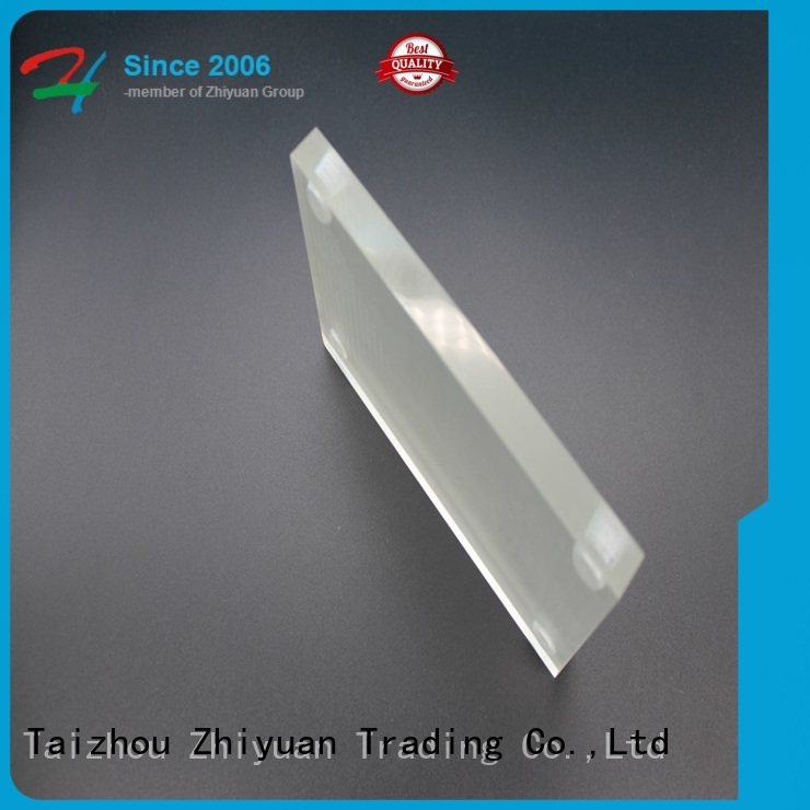 Zhiyuan profiles custom made plastic parts suppliers for toys